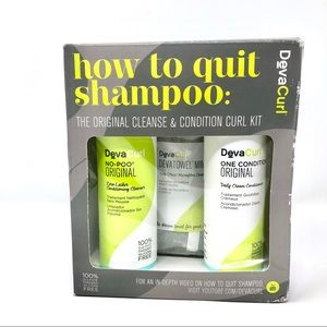 DevaCurl How to Quit Shampoo Cleanse & Condition